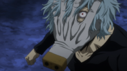 Tomura angry with Izuku