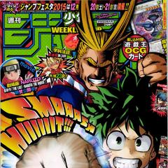 <i>Weekly Shonen Jump</i> Edición #3, 2015.
