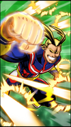 All Might Skill Character Art 10 Smash Rising