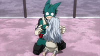 Deku worried about Eri