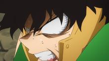 Yo Shindo angry