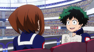 Izuku's notes on Ochaco