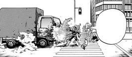 Endeavor avoiding an accident