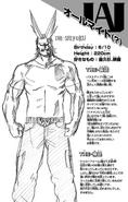 All Might Volume 1 Profile