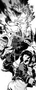 Katsuki Bakugo saves Kyoka from Togaru