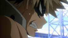 Bakugo Frustrado