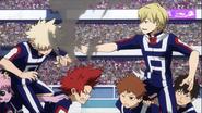 Neito commends Katsuki for his Quirk