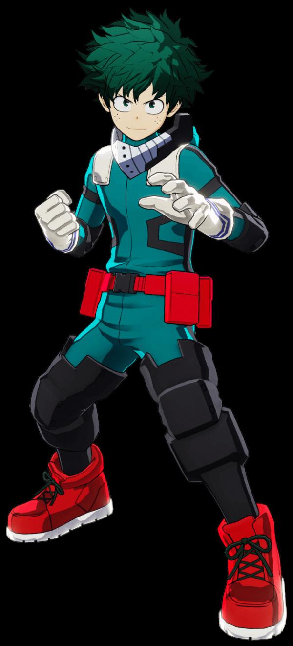 Izuku Midoriya One's Justice Design