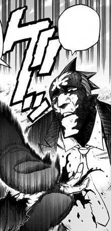 Re-Destro crunching Tomura