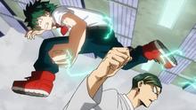 Izuku unable to beat Sir Nighteye