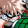 Katsuki Bakugo Colored Manga Portrait
