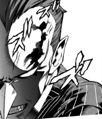 Rikiya Yotsubashi angry