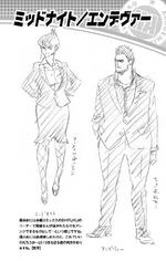 Volume 3 (Vigilantes) Enji Todoroki and Nemuri Kayama Profile