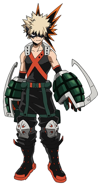 Katsuki Bakugo Full Body Hero Costume Anime