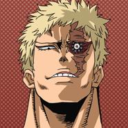Muscular Anime Portrait