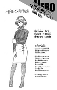 Volume 8 Shino Sosaki Profile