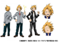 Denki Kaminari TV Animation Design Sheet