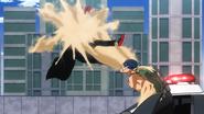 Tomura Shigaraki vs Sand Hero Snatch