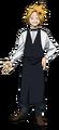 Denki Kaminari en Traje de camarero