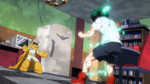 Izuku vs Gran Torino rematch