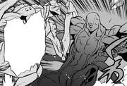 Kirihito Kamachi attacks Octoid