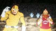 Rikido, Koji and Toru are rescued
