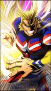 All Might Character Art 2 Smash Rising