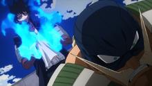 Dabi se burla de Snatch (anime)