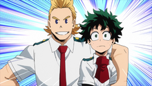 Mirio agrees to introduce Izuku to Sir Nighteye