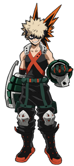 Katsuki Bakugo Traje de héroe