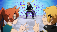 Denki and Itsuka discuss Neito's behaviour