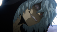 Tomura's face