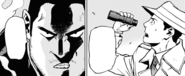 Endeavor and Naomasa watch the fight