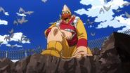 Koji commands the birds
