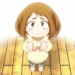 Ochaco as a child
