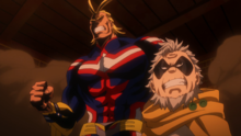 All Might and Gran Torino