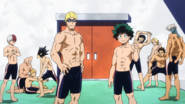 Class 1-A Boys at the pool