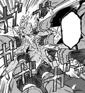 Knuckleduster beats Akira