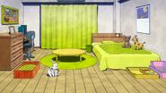 Koji Koda's dorm room