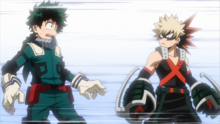 Izuku and Katsuki paired for finals