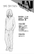 Profile Shota Aizawa