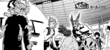 All Might and U.A. Students vs. League of Villains (Manga)