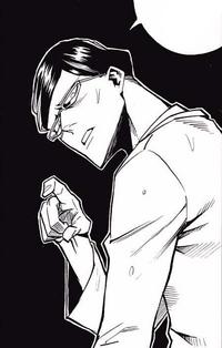 Sir Nighteye warns Izuku not to be reckless (Manga)