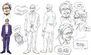 Giran TV Animation Design Sheet