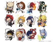 My Hero Academia Season 4 Chibi Stickers