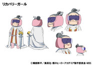 Recovery Girl TV Animation Design Sheet