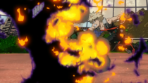 Katsuki le da a Kurogiri