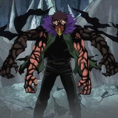 Fusione tra Kai e Shin nell'anime.