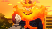 Endeavor embraces Shoto