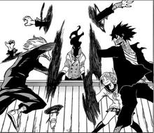 Himiko, Dabi y Tomura Ataques